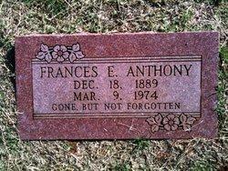 Frances Ethel <i>Prewett</i> Anthony