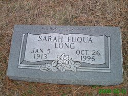 Sarah <i>Fuqua</i> Long