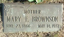 Mary Ellen <i>Shaum</i> Brownson