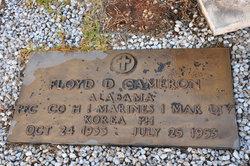 PFC Floyd Dale Cameron