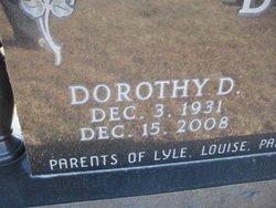 Dorothy D. <i>Baker</i> Bader
