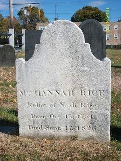 Hannah <i>Palfrey</i> Rice