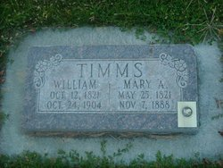Mary Ann <i>Avery</i> Timms