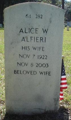 Alice <i>Wheeler</i> Alfieri