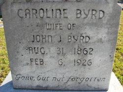 Caroline <i>Purvis</i> Byrd