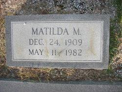 Matilda M Jones