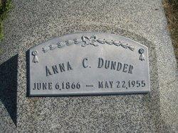 Anna C <i>Sedlacek</i> Dunder
