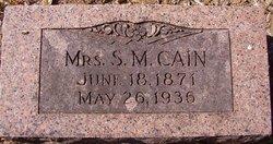 Eva <i>Niccum</i> Cain