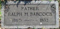 Ralph Milton Babcock