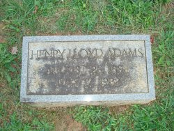 Henry Lloyd Adams