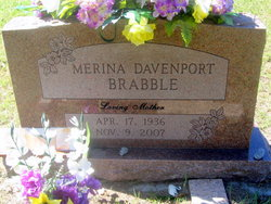 Merina <i>Davenport</i> Brabble