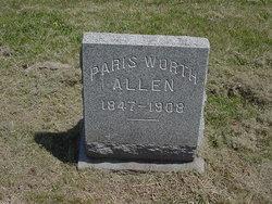 Paris Worth Allen