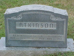 Dorothy Marie Atkinson