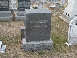 Mrs Ann Eastburn <i>Kellam</i> Addison