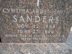 Cynthia Arden Cindi <i>Smith</i> Sanders