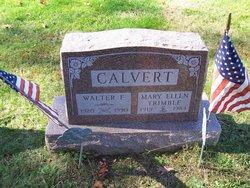 Mary Ellen <i>Trimble</i> Calvert