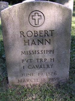 Pvt Robert Hann
