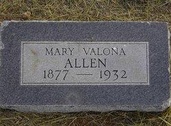 Mary Valona Allen