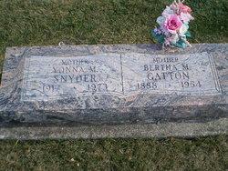 Yonna M <i>Christo</i> Snyder