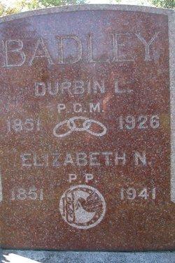Elizabeth Nancy <i>Greer</i> Badley