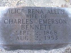 Alice Rena <i>Allen</i> Bennett