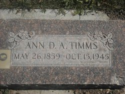 Ann Demaris Avery Timms