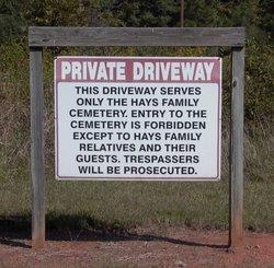 Hays Family Cemetery