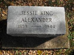 Jessie King Alexander