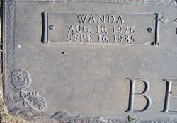 Wanda <i>Wantz</i> Benda