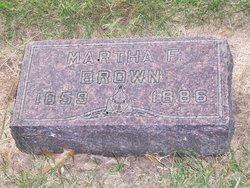 Martha Frances <i>Hemphill</i> Brown