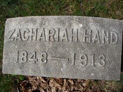 Zachariah F. Hand