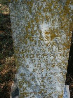 Bessie J Anderson