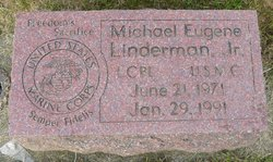 LCpl Michael Eugene Linderman, Jr