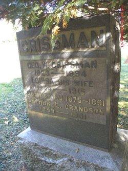 Arthur L Crissman