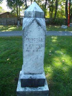 Priscilla H <i>Pecht</i> Havice