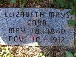 Elizabeth Betty <i>Mays</i> Cobb