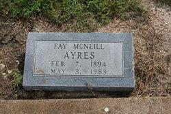 Fay <i>McNeill</i> Ayres