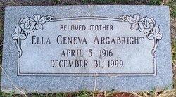 Ella Geneva <i>Duckworth</i> Argabright