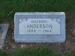Ingeborg <i>Gunderson</i> Anderson