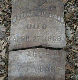 Widdows N. Henderson