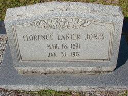 Florence <i>Lanier</i> Jones