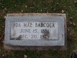 Ida Mae <i>Broyles</i> Babcock
