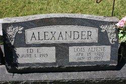 Ed E Alexander