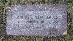 Gladys Theodora <i>Wallin</i> Gerdes