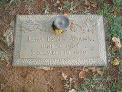 Lena <i>Bates</i> Adams
