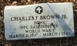 PFC Charles F. Brown, Jr