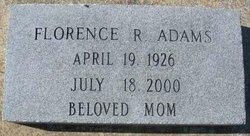 Florence R. <i>Sellers</i> Adams