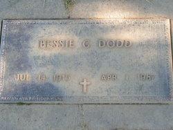 Bessie G <i>Elliott</i> Dodd
