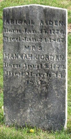 Hannah <i>Alden</i> Jordan