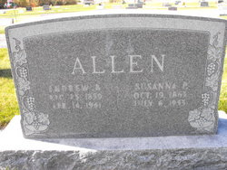 Susanna Elizabeth <i>Preece</i> Allen